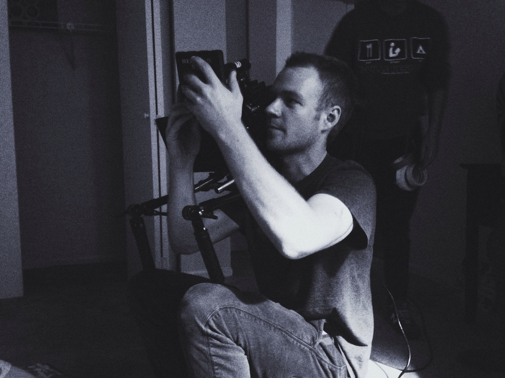 Director of Photography Conor Murphy.