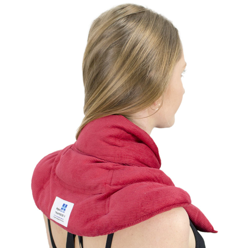 The Trapeeze combines a gentle stretch and warmth to help ease tension headaches.