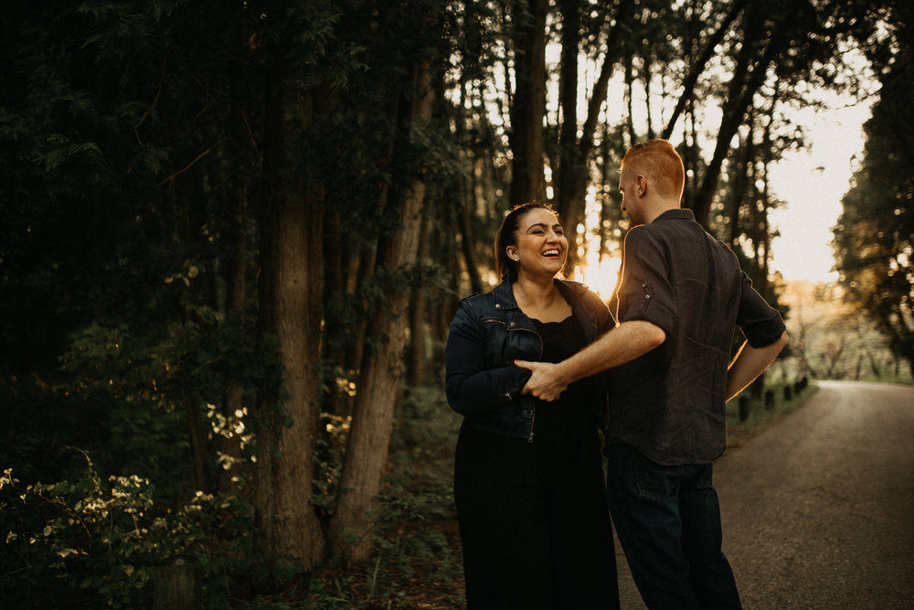 Saydie and David - The Morton Arboretum Engagement | Lisle, IL