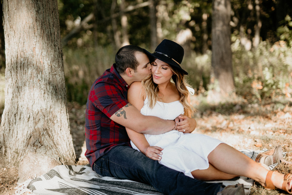 Alex and Annie - Fall Engagement | Busse Woods | Schaumburg, IL