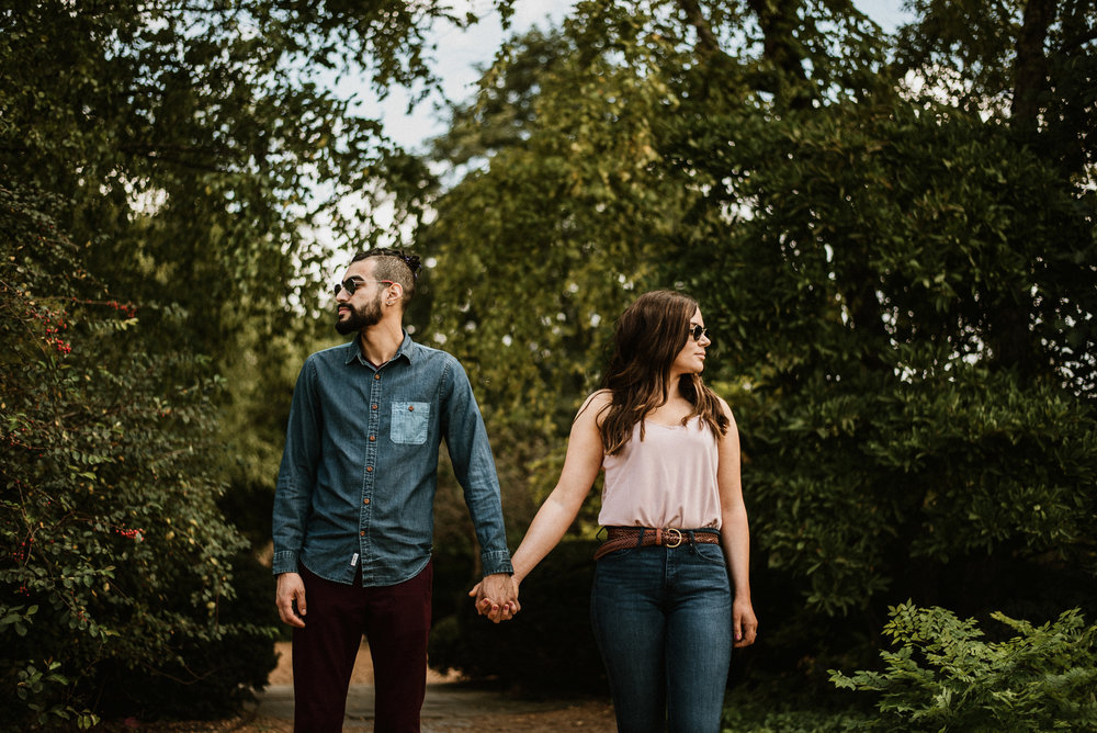 Kim and Art - Summer Engagement Cantigny Park | Wheaton, IL