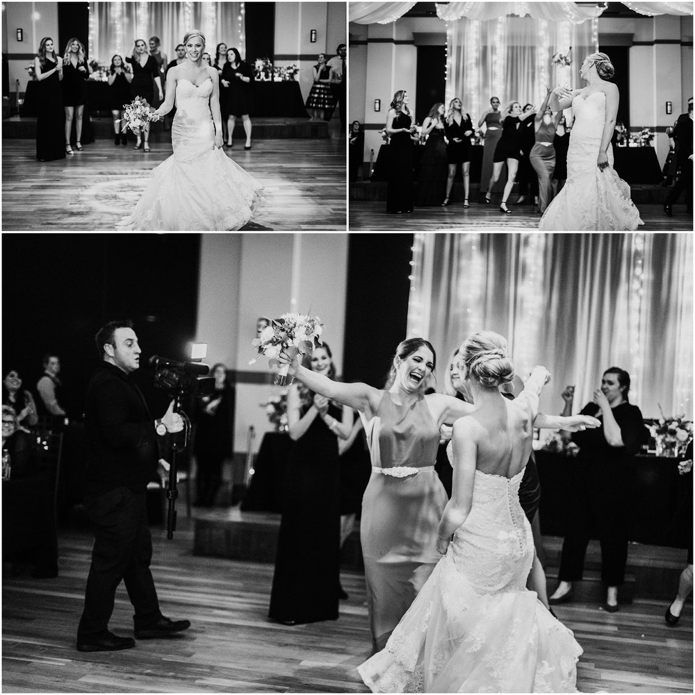 Kristina and Seth | Winter Wedding | NOAH'S Event Venues | Naperville, IL | Candace Sims Photography