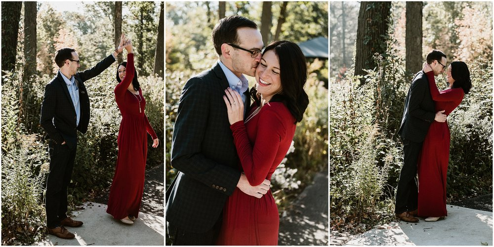 Candace Sims Photography | Lyman Woods Fall Engagement