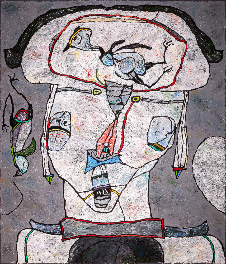 "Uncle Fred and the Baby Bird, 1992 – 80""x70"""