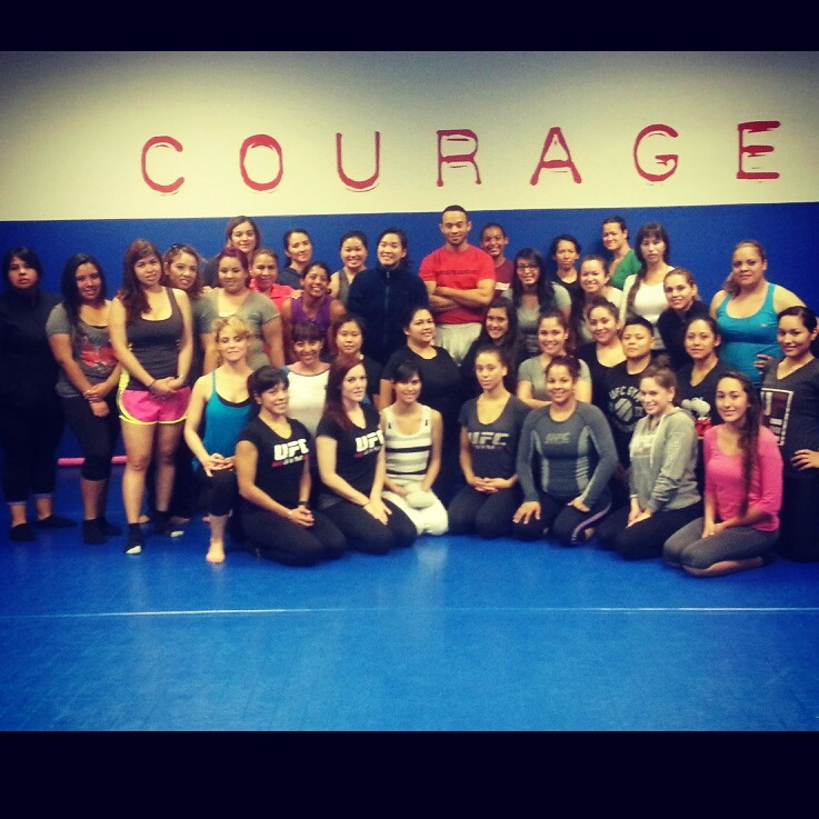 Stay Safe LLC and Inspire me self defense at the UCF Gym