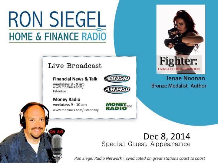 RON SIEGEL RADIO SHOW