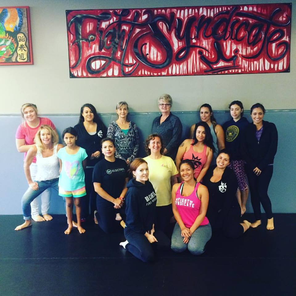 Self Defense class at Fight Syndicate