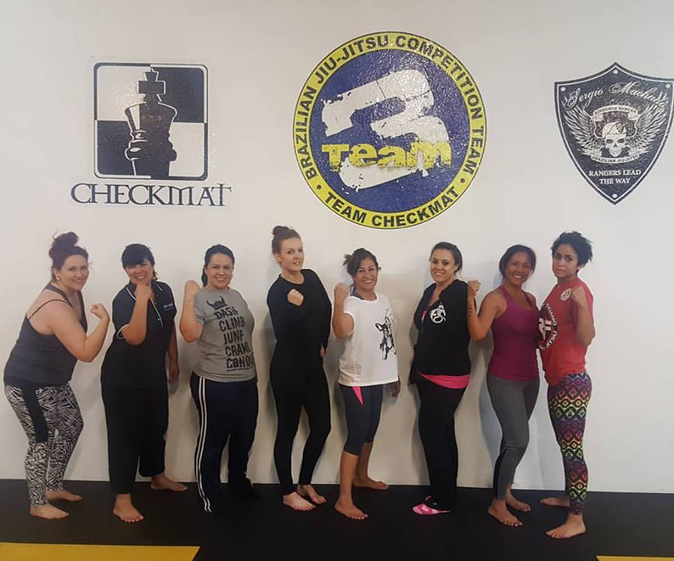 Self defense at Team Three CheckmatSelf Defense