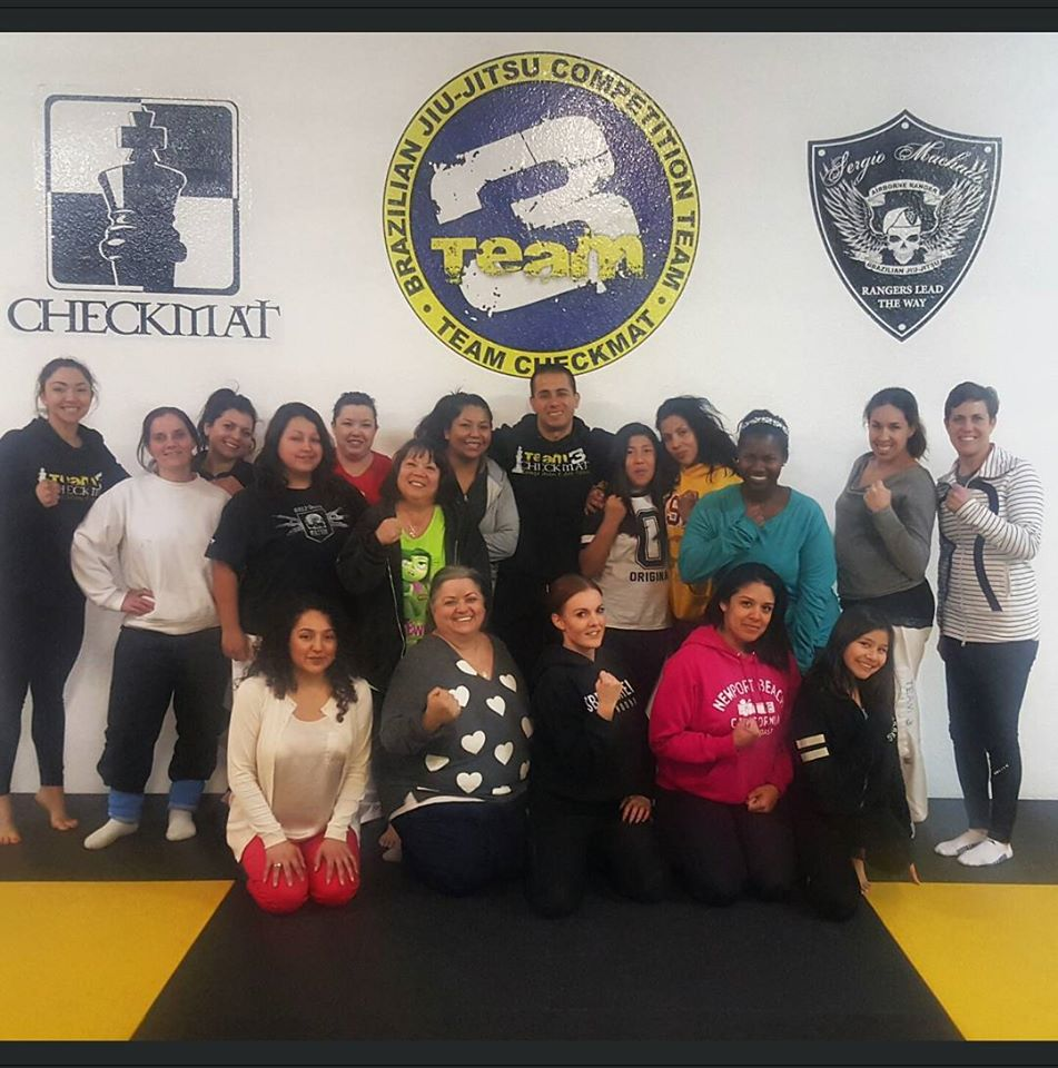 Self Defense at Team Three Checkmat