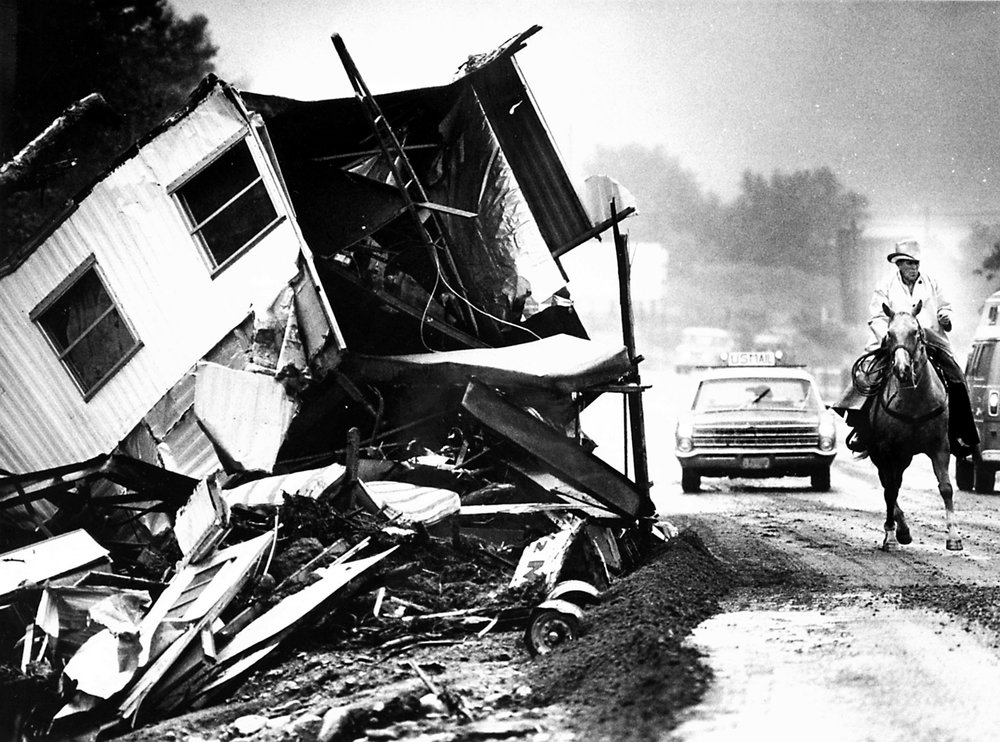 1976 Big Thompson Flood. Image: The Denver Post