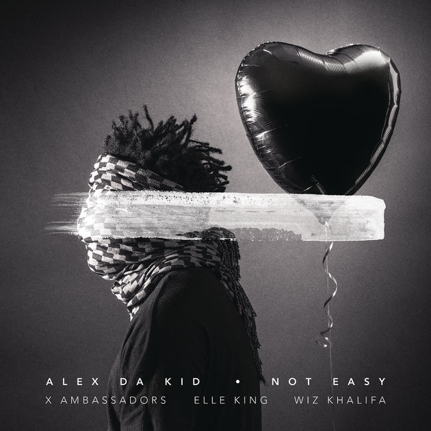 "Alex Da Kid - ""Not Easy (feat. X Ambassadors, Elle King, Wiz Khalifa)""    Engineer     Listen"