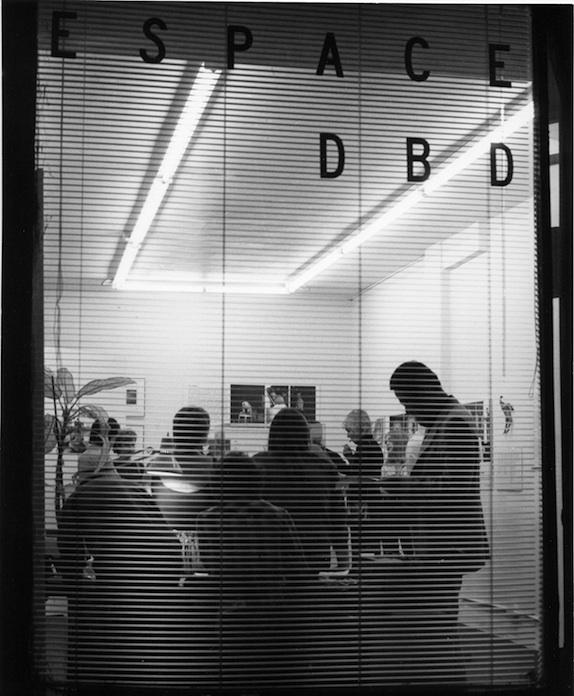 Vintage ESPACE DBD photo circa 1980.