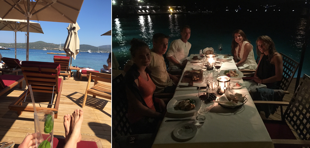 Spent a few days in Bodrum shooting a  video  for our friend's new hotel