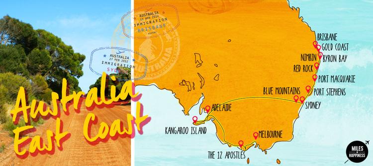 australias east coast itineraries