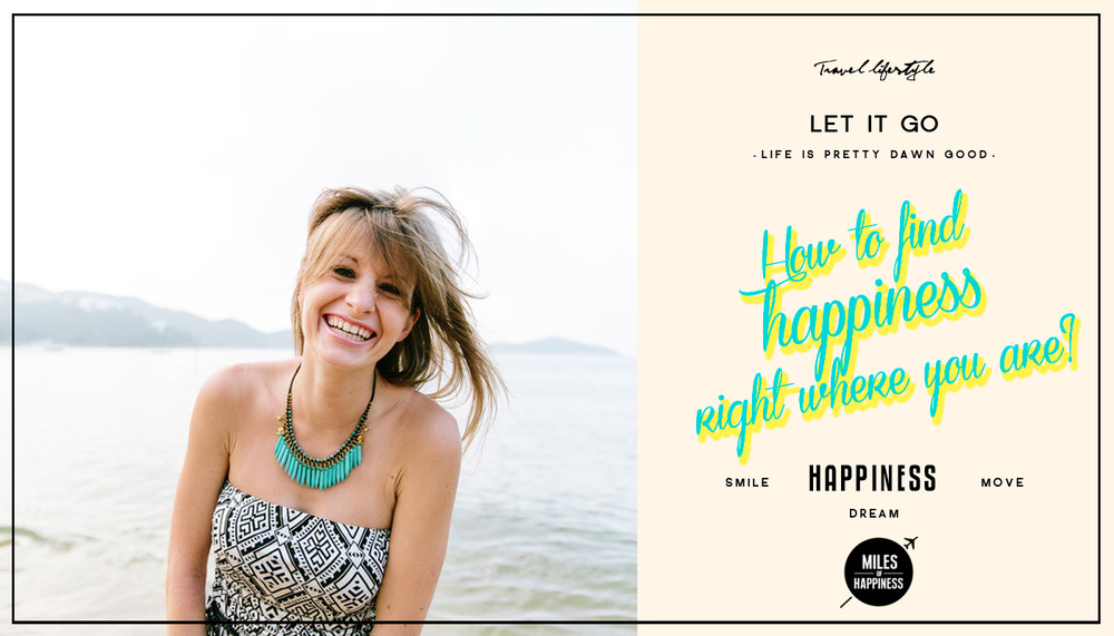 How to find Happiness right where you are - Photo ©JU REDONDO PHOTOGRAPHY