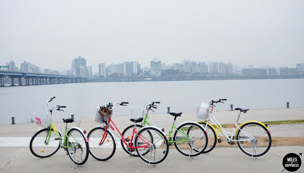 Quick guide to Seoul in 48h - Biking