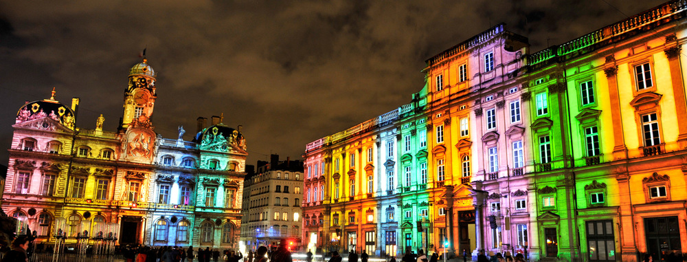 The Ultimate France Bucketlist : Lyon Night of Lights