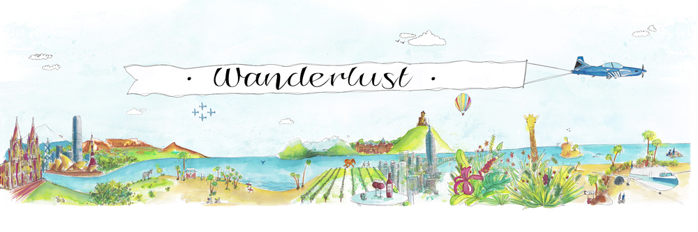 Wanderlust by Marie Pottiez - Miles of Happiness