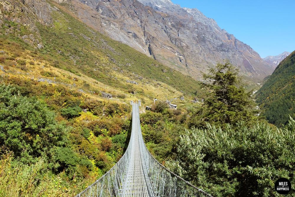 Himalayas suspension bridges
