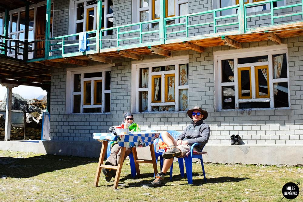 Himalayas simple life