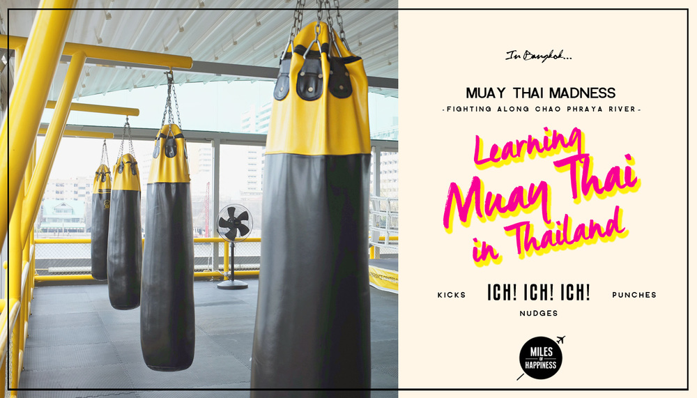 Learning Muay Thai in Thailand : Muay Thai Lab, Bangkok