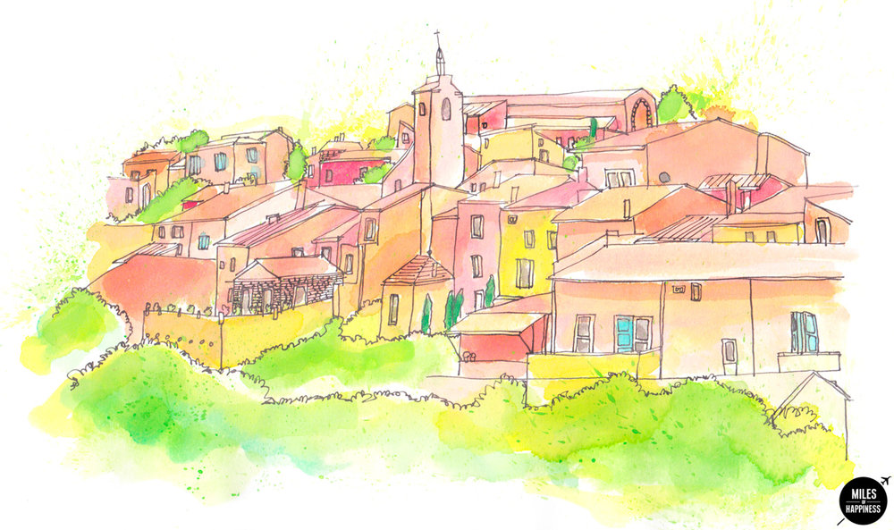 10 of the most beautiful villages in Provence: Roussillon