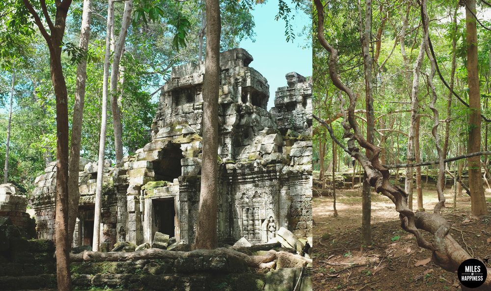Exploring Ta Nei Temple in Angkor