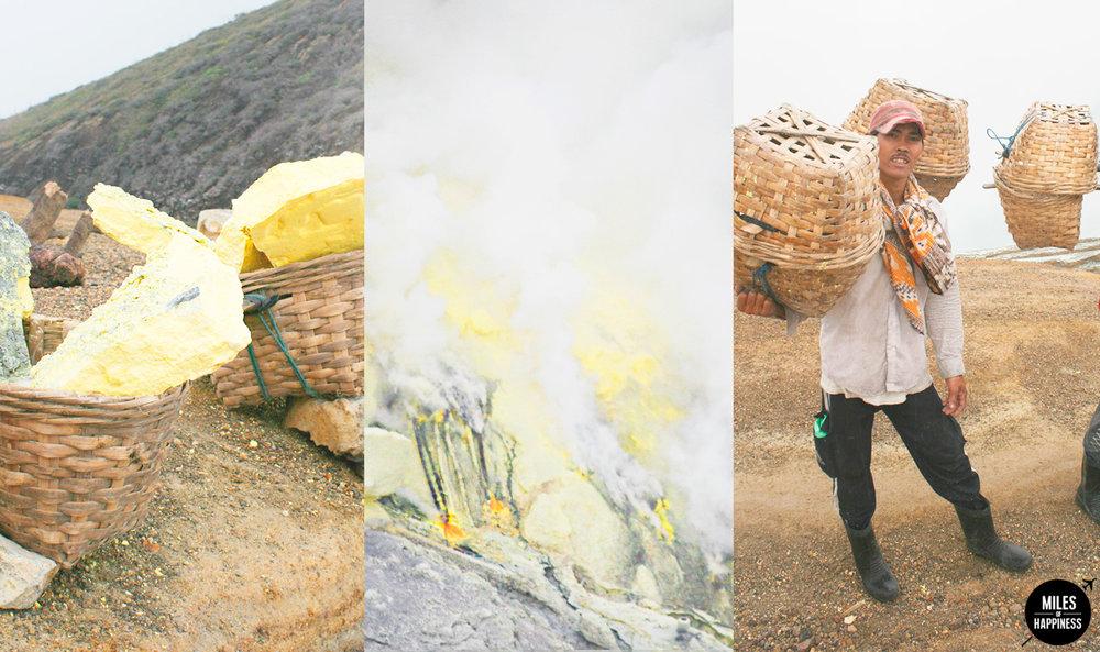 A night hike in the blue flames: Kawa Ijen