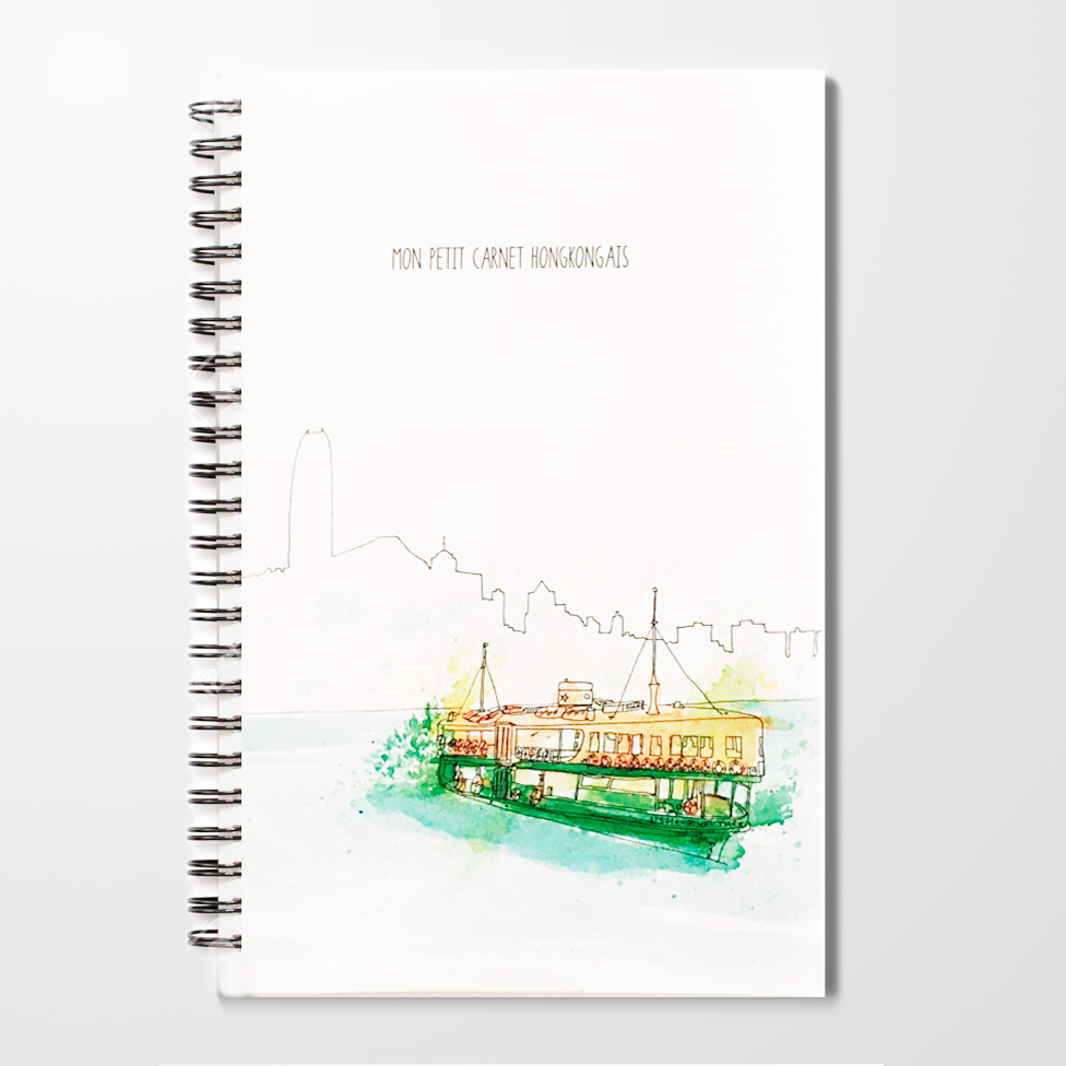 Miles of Happiness Notebook - Star Ferry, Hong Kong