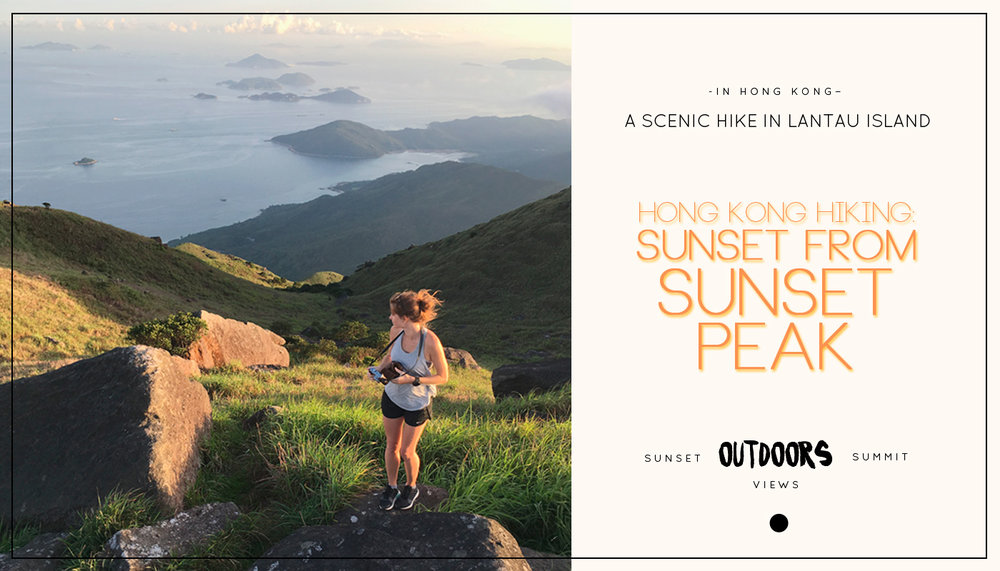 Hong Kong Hiking: Sunset from Sunset Peak