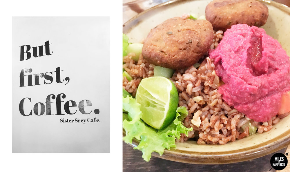 Quick Guide to Siem Reap : Discover Sister Srey Café