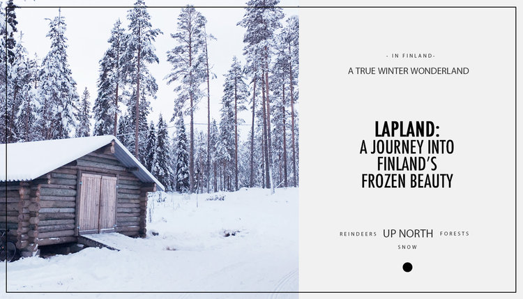 Spending Sunday In Floating Frozen >> Lapland A Journey Into Finland S Frozen Beauty Miles Of Happiness