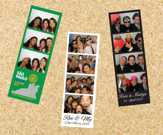 photoboothME photo booth hire background strip colour examples.