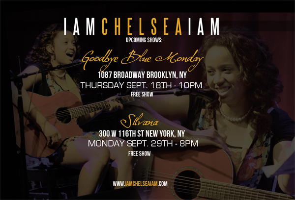 Sept 29th, 2014 8pm  iamchelseaiam  Silvana Harlem  300 W 116th St