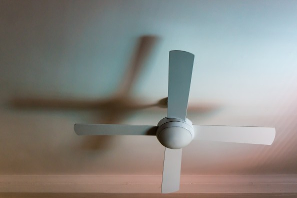 ceiling fan by Kimberly Poppe