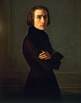 Franz Liszt. Gee whiz. Look at him.
