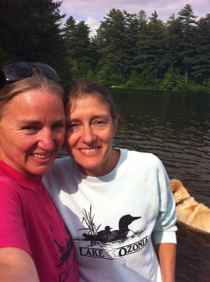Wellness Romp, with Nancy and Basil, at Debar Pond.