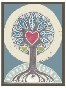 The   Tree of Life   that we are        all a part of on our walk of      life and love on Mother Earth.