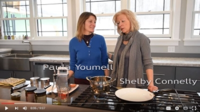 Paula Cooking Up Healing Soup With Shelby Connelly of  Five Elements Living   Retreat & Acupuncture Center    Paula's YouTube  Channel