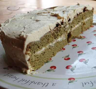 Stinging Nettle Cake... Sooooo Yummy & Cell Nourishing.