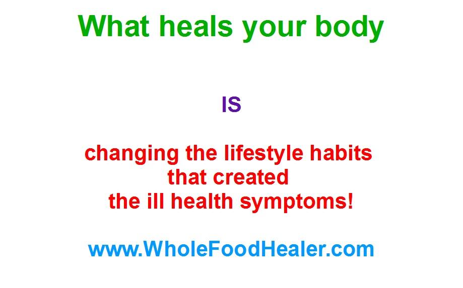 lifestyle heals