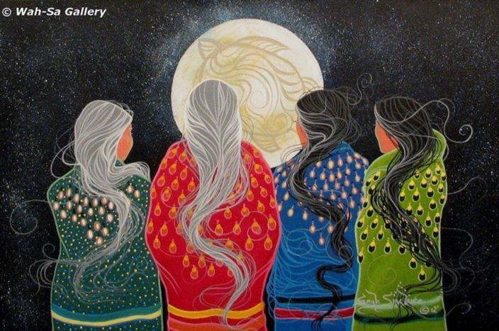 native women moon