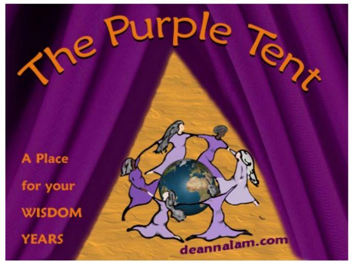purple tent 1