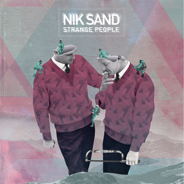 Single cover for Nik Sand https://soundcloud.com/nik-sand
