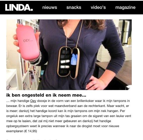 Oey artikel in Linda