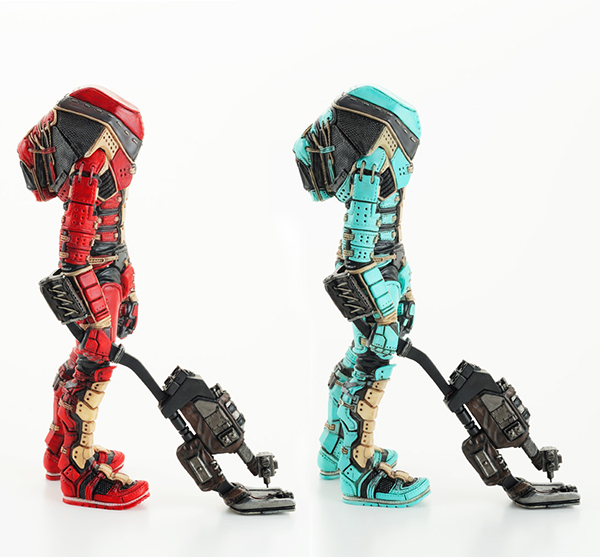 909-3D / H6EeV-The mine detector / Epoxy Clay / Sculped by MECHIKURO