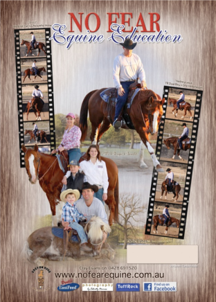 Clayton & Kim Evans - No Fear Equine Clinic