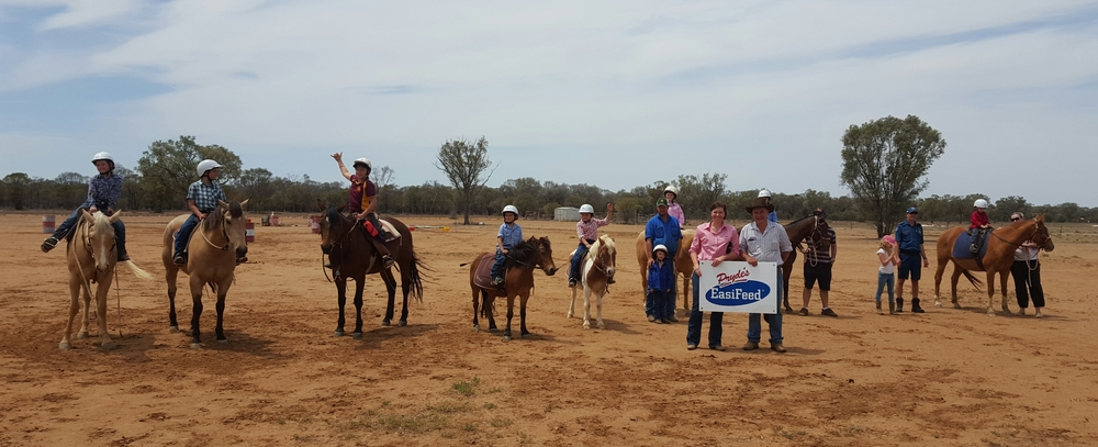 Supporting Blackall Pony Club