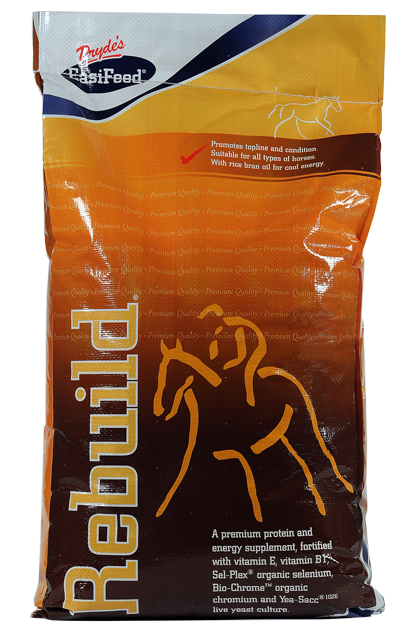 ✔ Builds topline and promotes condition in all horses ✔ With rice bran oil, vitamin B1 and extruded grains for cool, calm conditioning ✔ Can be added to any diet