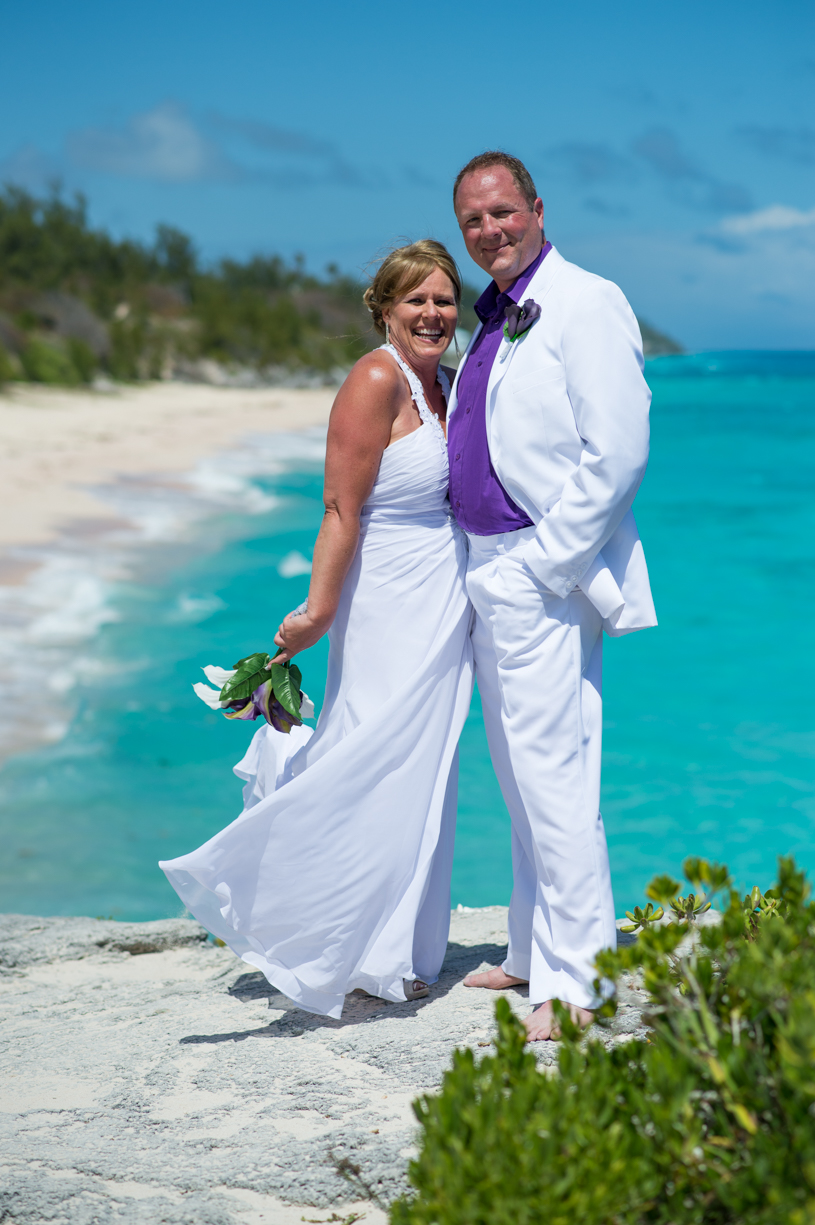 Bermuda Wedding Photographers: Amy & Rick at Jobson\'s Cove — Two ...